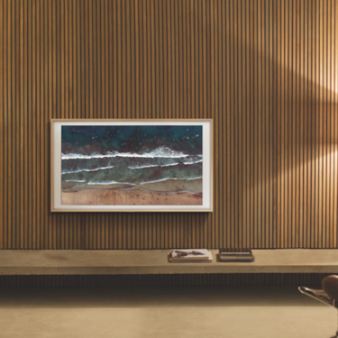 Este televisor es el nuevo sueño de toda apasionada del diseño y la decoración