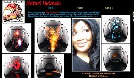 Hatari Helmets, unos cascos muy moviditos