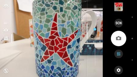 Sony Xperia X Compact cámara software