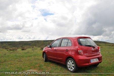 Nissan Micra CVT Lado izquierdo