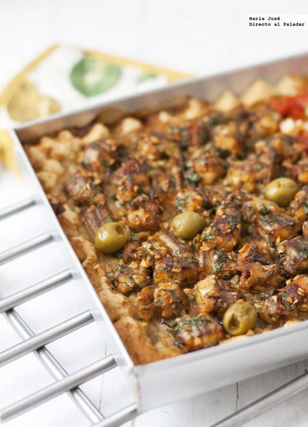 Coca de gató o pintarroja, receta tradicional de Ibiza