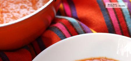 Crema de zanahorias asadas. Receta saludable