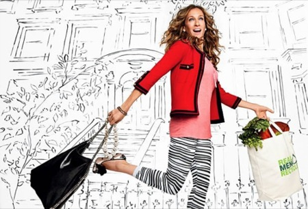 El estilo chic de Sarah Jessica Parker para 2010 en Glamour