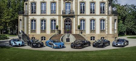 Les Légendes de Bugatti, al fin juntos en Pebble Beach