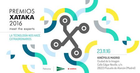 Premios Xataka 2016: estos son los finalistas