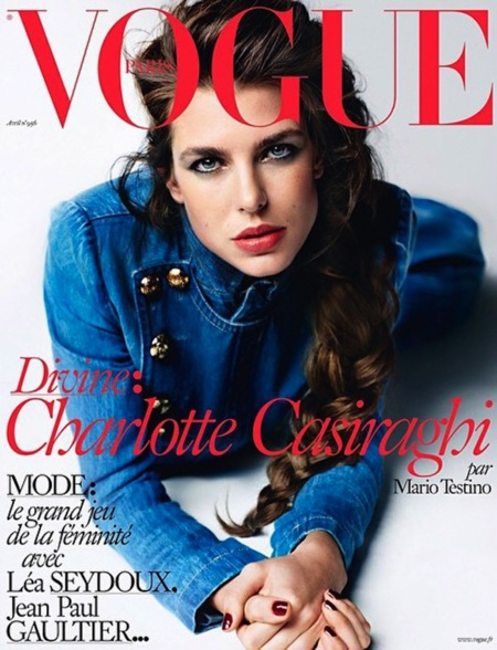 Carlota Casiraghi, de nuevo portada de Vogue (Francia)