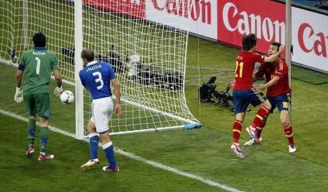 El gol de Silva