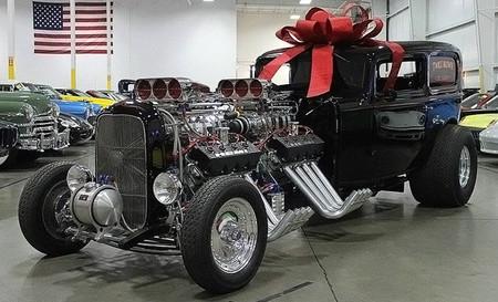 Otro regalo de Reyes: un Hot Rod con dos V8