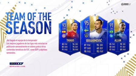 Guía FIFA 19. TOTS: el Equipo de la Temporada. Todas las cartas y objetivos semanales