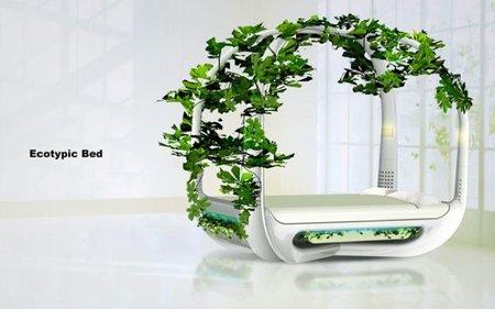 Ecotypic Bed, una cama para el relax