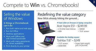 Microsoft y sus socios preparan nuevo portátiles y tablets de bajo coste para los próximos meses