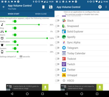 Cómo controlar el volumen de cada aplicación en Android de manera independiente