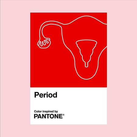 Period Color De Pantone