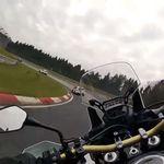¡Alucina! Esto es una Honda CRF1000L Africa Twin marcando un 8:38 en Nürburgring