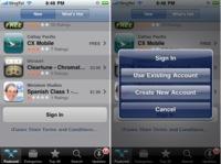 El iPhone OS 3.0 tendrá soporte para gestionar varias cuentas de iTunes Store