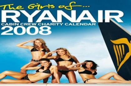 El calendario de Ryanair con sus azafatas en biquini; de infarto