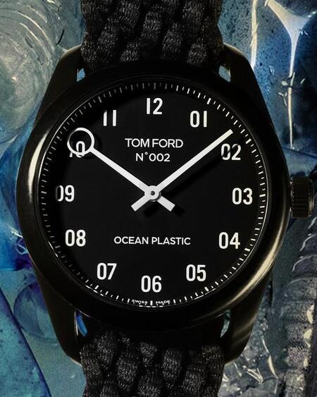 Heho Con Plastico Del Oceano El Nuevo Reloj De Tom Ford Redefine El Lujo Amigable Con El Ambiente