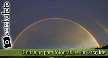 Consejos para fotografiar un arco iris