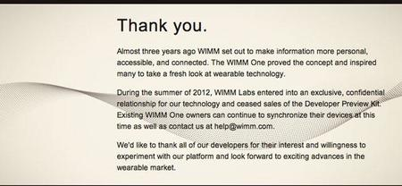 WIMM es comprado por Google