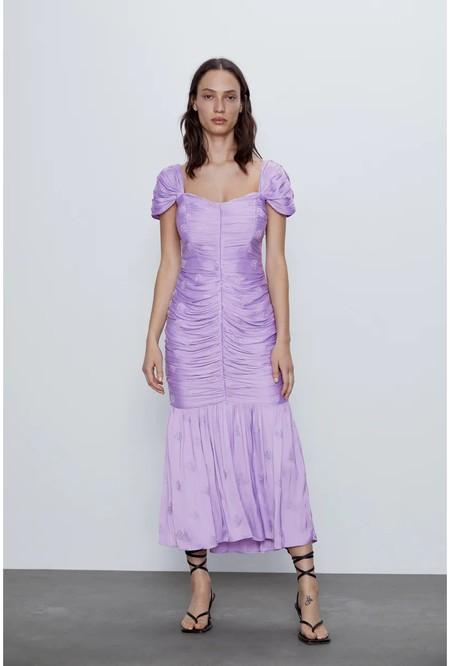 Vestido Malva Zara