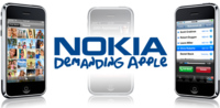 Nokia demanda a Apple por el iPhone
