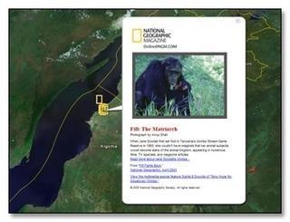 Google Earth ahora con datos de National Geographic