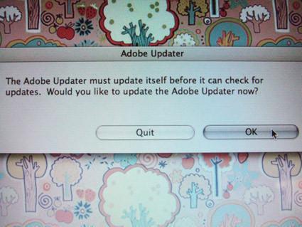 El actualizador que se actualiza... buen actualizador será
