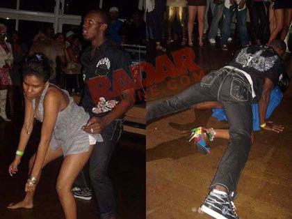 Usain Bolt bailando reggeaton