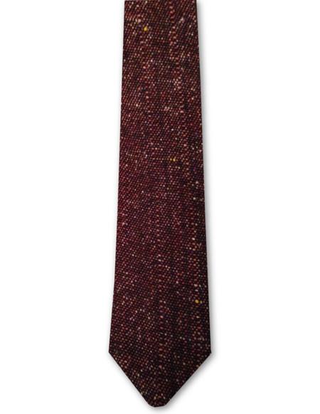 Corbatas con detalle tejido