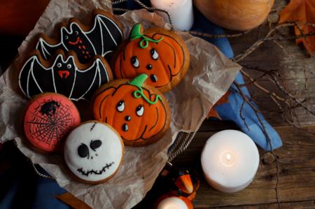 Halloween: moldes para cocinar bizcochos, galletas y tartas terroríficas (y no tanto)