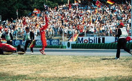 Gran Premio de Alemania 1994: Gerhard Berger termina la sequía de victorias de Ferrari
