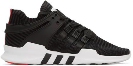 Adidas Originals Black Equipment Support Adv Sneakers 800x401