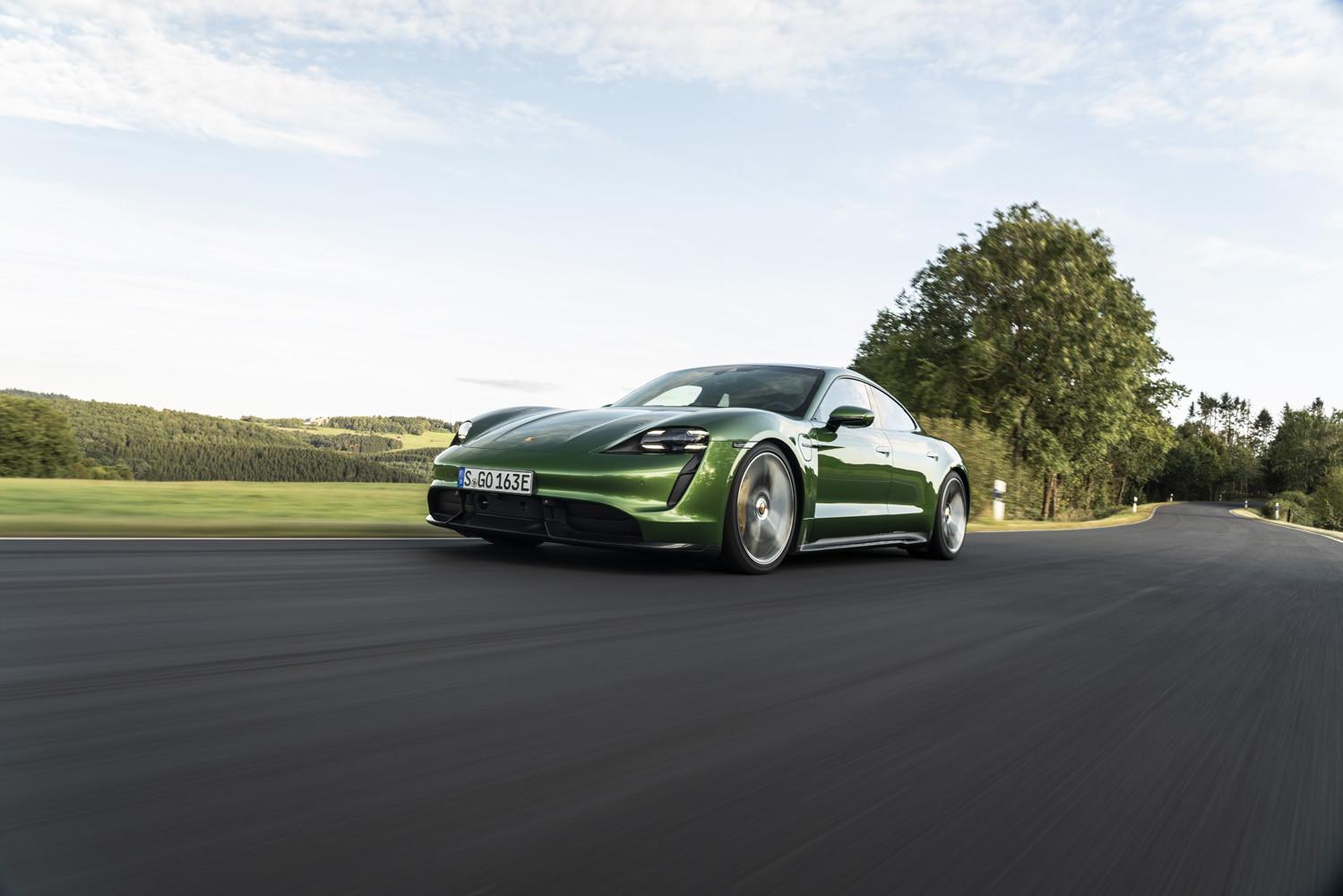 Foto de Porsche Taycan prueba contacto (239/275)