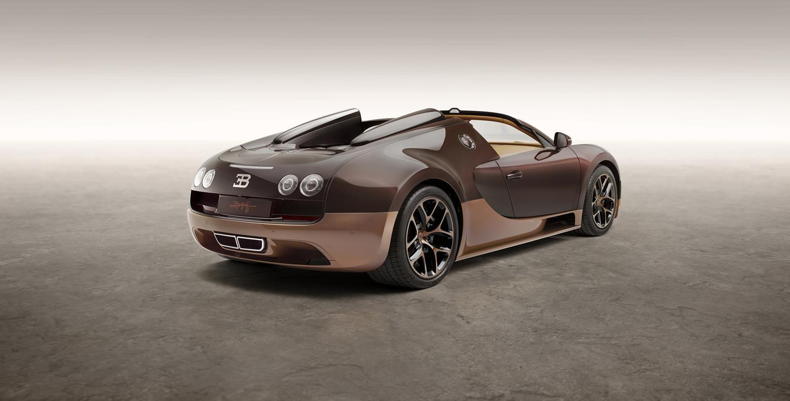 """Foto de Bugatti Veyron """"Rembrandt Bugatti"""" Legend Edition (2/16)"""