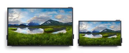 El monitor más grande de Dell tiene 86 pulgadas: competencia para Microsoft Surface Hub, sin cerebro