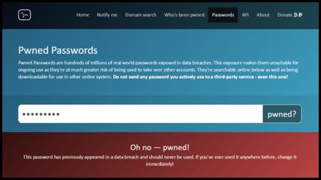 Comprueba si tus contraseñas han sido hackeadas alguna vez con este sitio web