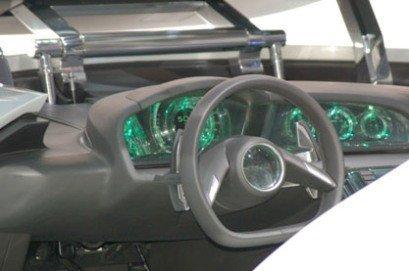 Interior del Saab Aero X