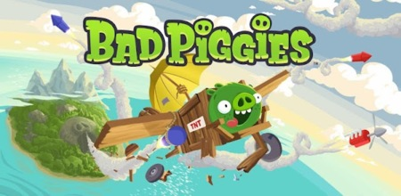 Bad Piggies ya disponible para Android