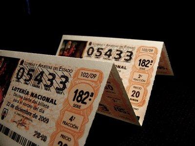 ¿Son legales las participaciones de Lotería?