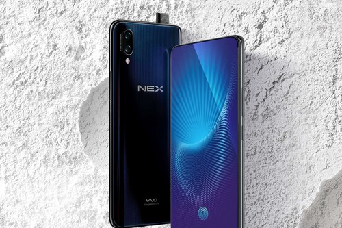 Vivo NEX: pantalla con ratio del 91%, cámara frontal desplegable, Snapdragon 845 y lector de huellas integrado