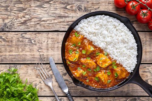 Controlar las porciones en las comidas principales te ayuda a llegar a tu peso ideal