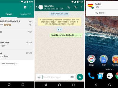 WhatsApp para Android: descubre las 5 novedades que ya han comenzado a llegar a todo el mundo