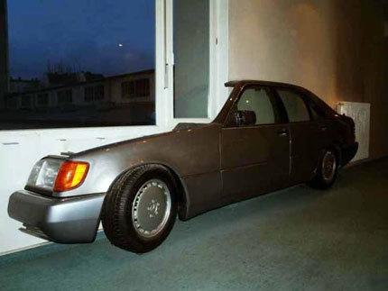 Pon un Mercedes-Benz en tu salón