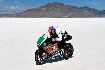Mission One Electric bate el récord de velocidad en moto eléctrica