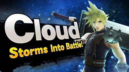 Cloud también se unirá a la batalla en Super Smash Bros.