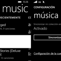 Xbox Music se actualiza en Windows Phone y ya permite forzar la sincronización de canciones