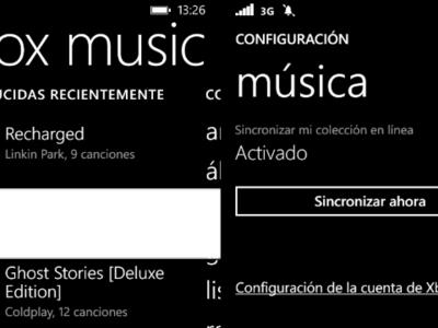 Xbox Music se actualiza en Windows Phone y ya permite forzar la sincronización de canciones