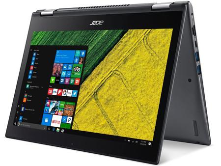 Oferta Flash: convertible Acer Spin 5 de 256GB, con procesador Intel Core i5, por 599 euros en El Corte Inglés