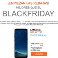 Comienzan las rebajas en Simyo: Samsung Galaxy S8 por sólo 485 euros