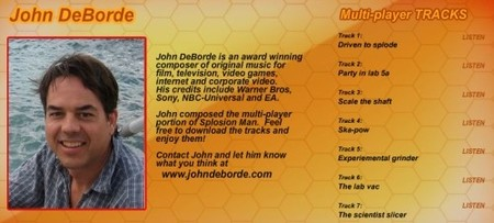 Splosion Man: John DeBorde